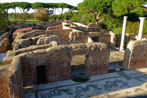 italy-ostia-antica-mosaic